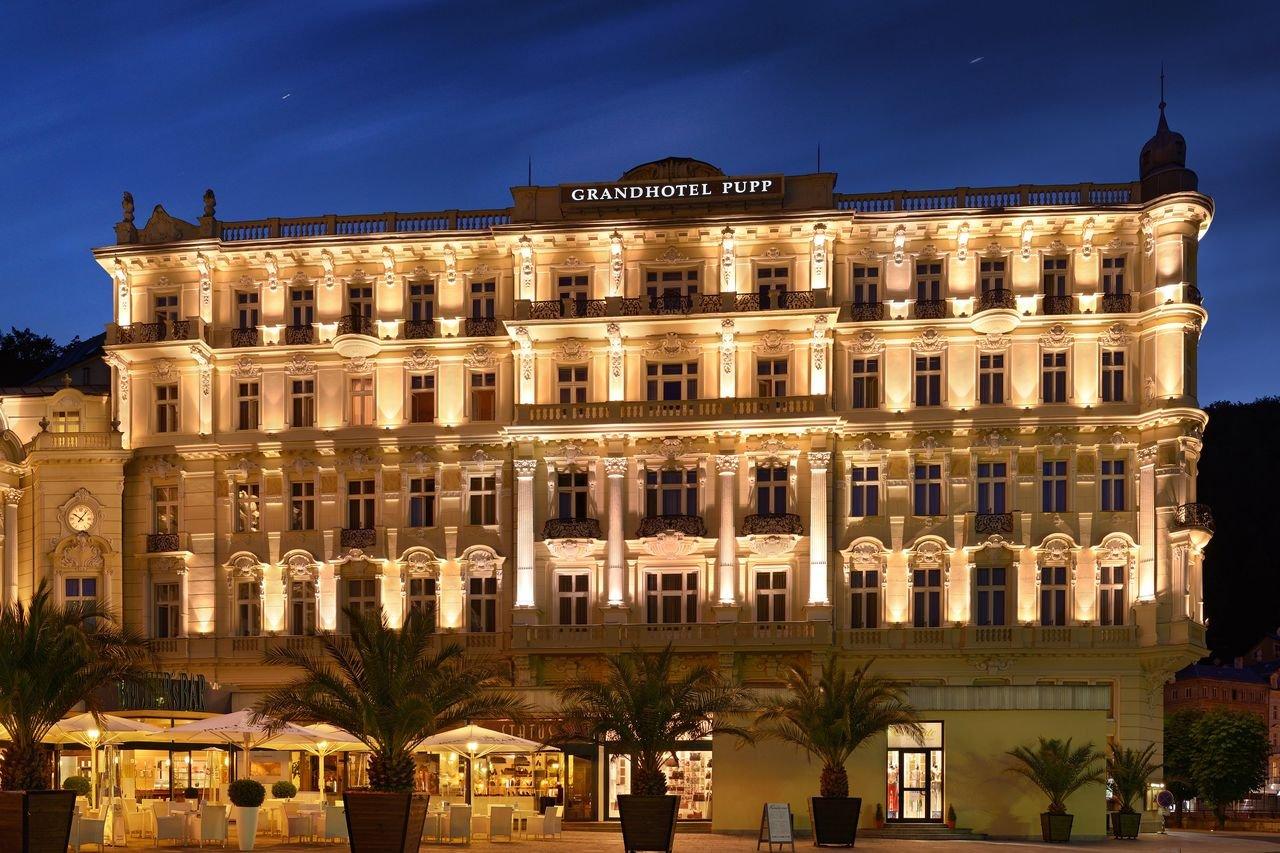 Grand Hotel Pupp Casino Karlovy Vary, Czech Republic